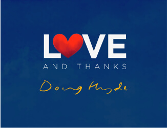 Love and Thanks by Doug Hyde image